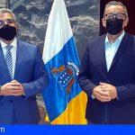 Arico | Román Rodríguez y Sebastián Martín analizan las posibles inversiones del Gobierno en el municipio