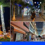 1.690 adornos repartidos en 28 barrios, encienden la Navidad en Arona