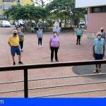 Arona apuesta por la vida saludable de sus mayores y pone en marcha 'Arona Deporte Adaptado'
