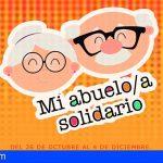 """Adeje abre las inscripciones del proyecto """"Mi abuelo/a solidario"""""""
