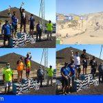 San Miguel se convirtió ayer en capital del motocross con la celebración del campeonato de Canarias