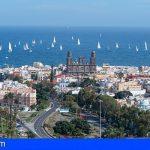 El Rally Atlántico de Cruceros ARC 2020, salió de Gran Canaria hacia Santa Lucía en El Caribe