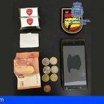 Detenido en Santa Cruz de Tenerife con 50 gramos de hachís