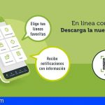 Titsa estrena una aplicación que permite al usuario personalizar la experiencia de viaje