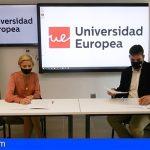 Universidad Europea firma un convenio con Jóvenes Empresarios de Tenerife para facilitar la formación