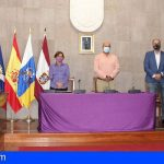 Granadilla de Abona expresa su repulsa contra la violencia de género