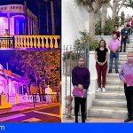 San Miguel se tiñe de violeta en el Día Internacional de la eliminación de la violencia contra las mujeres