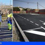 Granadilla finaliza la nueva zona de aparcamientos del CEIP Los Blanquitos