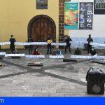 Protesta silenciosa de Artistas Callejeros en La Laguna