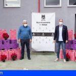 Cuatro empresas adejeras donan lotes navideños al Banco de Alimentos
