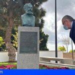 Arona honra la memoria de Eduardo Domínguez Alfonso