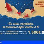 Stgo. del Teide sortea 8 cheques-regalo con hasta 1.500€ en premios por compras en el comercio local