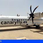 Canaryfly amplía su flota con un nuevo avión para la carga de mercancías