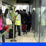 Sanidad inició el control de pruebas Covid-19 de los viajeros nacionales que llegan a Canarias