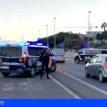 Un detenido en Santa Cruz por conducir fuera del límite horario y carecer de carnet