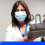El Colegio Oficial de Enfermeros de Tenerife reconoce la labor del personal de La Candelaria