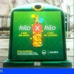 Arona y Ecovidrio te invitan a intercambiar kg de envases de vidrio por kg de alimentos