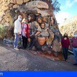 San Miguel   El Roque luce la maravillosa obra de arte de Mariya Anganova
