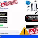Canarias | El ODIC detecta falsos sorteos de PlayStation5
