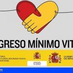 6.916 hogares canarios reciben el Ingreso Mínimo Vital este mes