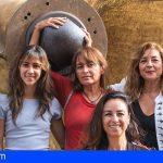 Mujeres cantan al mar en Arona Sos Atlántico, con un concierto De Alizuth Project