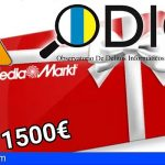 ODIC | Suplantan a Mediamarkt con falsas promociones de tarjetas regalo de 1.500€