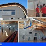 Valle San Lorenzo cuenta desde hoy con un moderno y premiado pabellón polideportivo