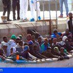 Este fin de semana llegaron 68 migrantes a Los Cristianos, más de 150 a las costas canarias