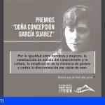 """Santiago del Teide convoca los Premios """"Doña Concepción García Suárez"""""""