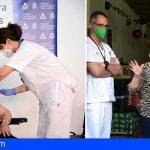 360 personas reciben en Canarias la vacuna contra el Covid-19