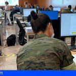 Canarias | Los rastreadores militares cumplen el segundo mes de apoyo a la lucha contra el Covid-19