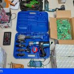 Adeje | Investigado por diez robos con fuerza en obras en Torviscas Alto y San Eugenio
