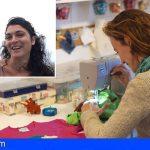 Arona SOS Atlántico | 'Costurilla' y FiM Artesanía Contemporánea reivindican `No más bolsas en el mar´ con un taller