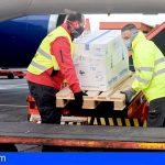 Hoy llegó a Canarias una nueva remesa con 13.650 vacunas contra el COVID-19