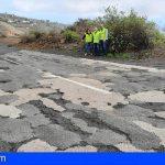 CC-PNC solicita el asfaltado de la TF-565 en Vilaflor de forma urgente