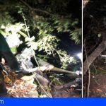 Rescatan en La Gomera a dos personas atrapadas en el barranco de El Cedro haciendo rappel
