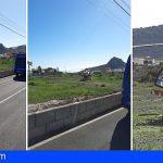 Un motorista fellece tras ser impactado por un vehículo en la TF-28, Cabo Blanco