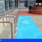 La Candelaria habilita un aparcamiento para bicicletas y así fomentar el transporte sostenible