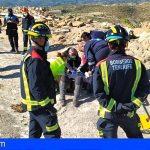 Una mujer herida en Granadilla tras caerse de un caballo en la zona del Desierto
