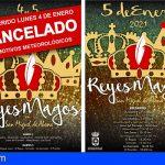 San Miguel cancela el recorrido de los Reyes Magos por lluvias y lo traslada a mañana
