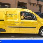 Correos renueva su flota en Canarias con 12 vehículos eléctricos para el reparto de paquetería