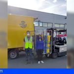 Correos entrega al Banco de Alimentos de Santa Cruz de Tenerife más de 300 kilos de comida