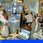 Canarias prorroga hasta el día 17 el control de pruebas diagnósticas de COVID-19 de los viajeros nacionales
