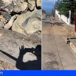 Guía de Isora mejora la red de suministro de agua en la Calle de las Mojas