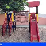Guía de Isora comienza las obras de acondicionamiento y mejora de parques infantiles