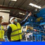 Arico | Inician las obras de automatización de la planta de envases del CAT