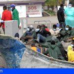 Ayer llegaron 54 migrantes a Los Cristianos