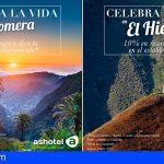 Ashotel anima la recuperación del turismo local con 'Celebra la vida en La Gomera y El Hierro'