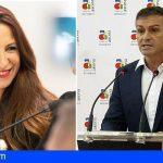 Arona Cesa a Dácil León y Sebastián Roque al frente de las áreas de Promoción Económica y Deportes