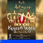 4 y 5 de enero, Comitiva Real de SS.MM. los Reyes Magos de Oriente por San Miguel de Abona